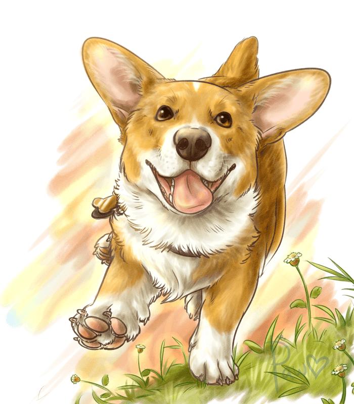 Открытки школе, картинки собак смешные нарисованные
