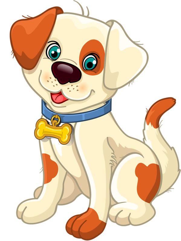 Картинка собака нарисованная для детей