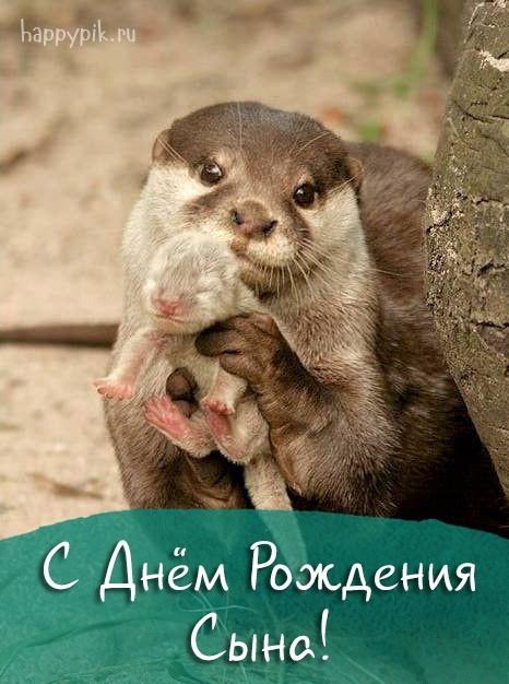 С днём рождения сына для мамы картинки